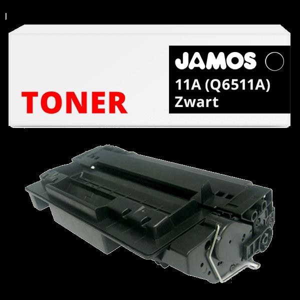 JAMOS Tonercartridge Alternatief voor de HP 11A Zwart Q6511A