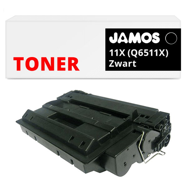 JAMOS Tonercartridge Alternatief voor de HP 11X Zwart Q6511X