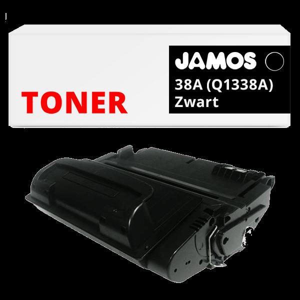 JAMOS Tonercartridge Alternatief voor de HP 38A Zwart Q1338A