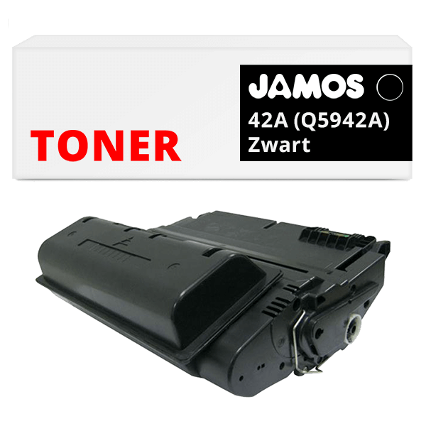 JAMOS Tonercartridge Alternatief voor de HP 42A Zwart Q5942A