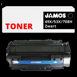 JAMOS Tonercartridge Alternatief voor de HP 49X Zwart Q5949X