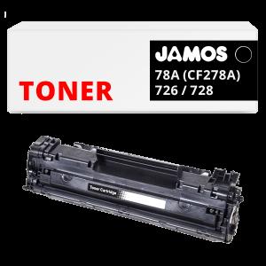 JAMOS Tonercartridge Alternatief voor de HP 78A CF278A Canon 726 Canon 728
