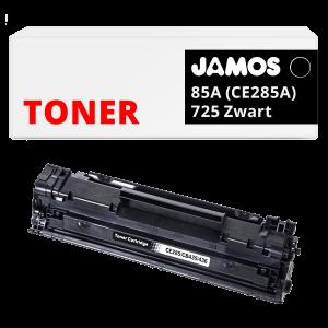 JAMOS Tonercartridge Alternatief voor de HP 85A Zwart CE285A