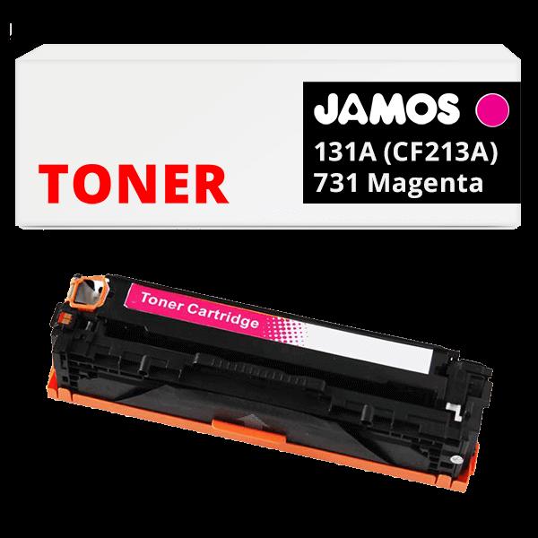 JAMOS Tonercartridge Alternatief voor de HP 131A CF213A & Canon 731 Magenta