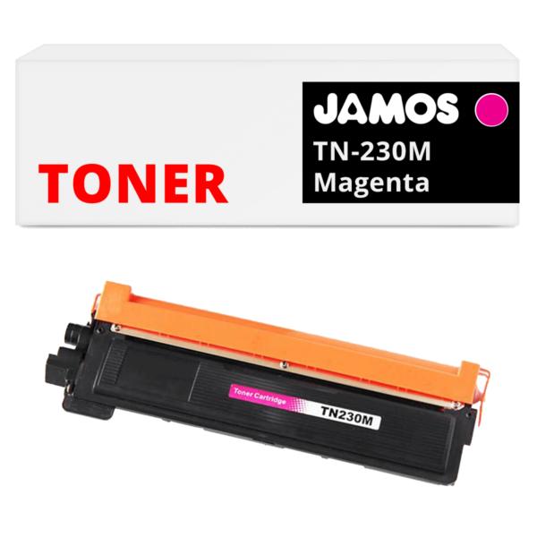JAMOS Tonercartridge Alternatief voor de Brother TN-230M Magenta