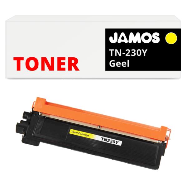 JAMOS Tonercartridge Alternatief voor de Brother TN-230Y Geel