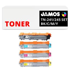 JAMOS Tonercartridge Alternatief voor de Brother TN-245 Voordeelset