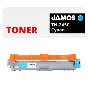 JAMOS Tonercartridge Alternatief voor de Brother TN-245C Cyaan