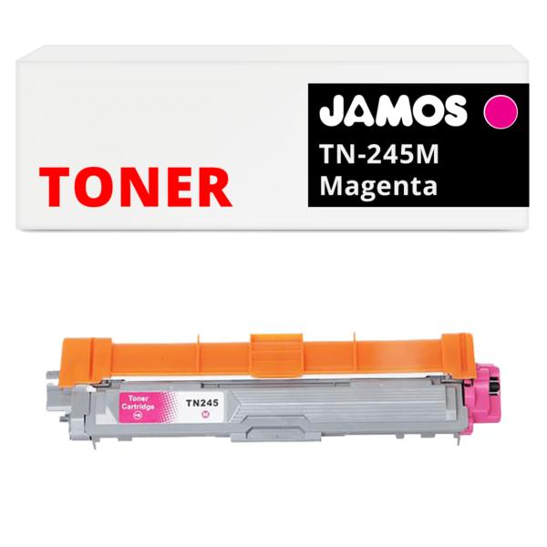 JAMOS Tonercartridge Alternatief voor de Brother TN-245M Magenta