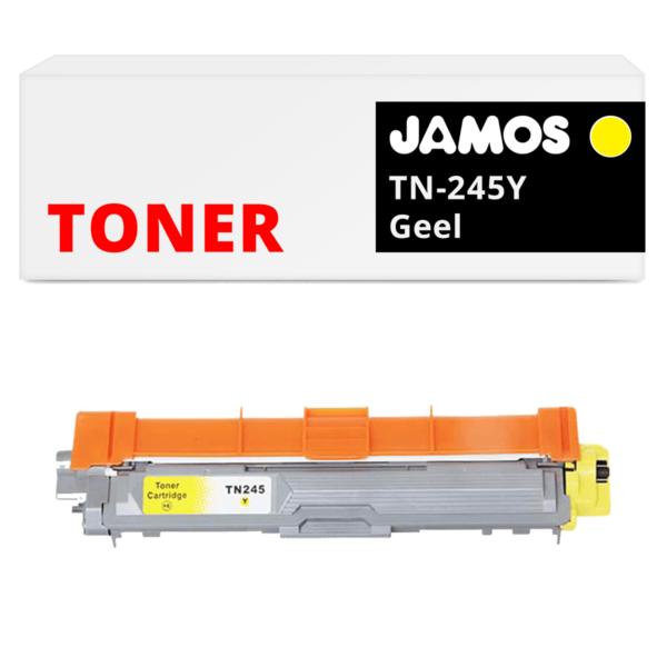 JAMOS Tonercartridge Alternatief voor de Brother TN-245Y Geel