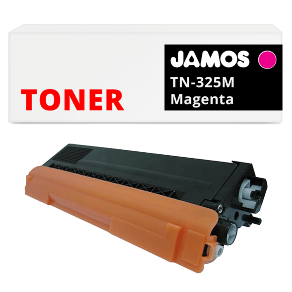 JAMOS Tonercartridge Alternatief voor de Brother TN-325M Magenta