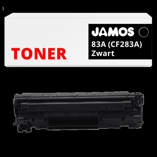 JAMOS Tonercartridge Alternatief voor de HP 83A Zwart CF283A
