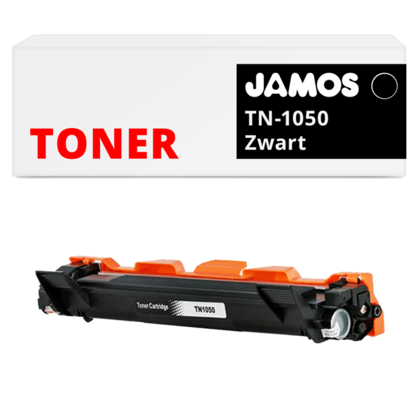 Jamos-Tonercartridge-Alternatief-voor-de-Brother-TN-1050-Zwart
