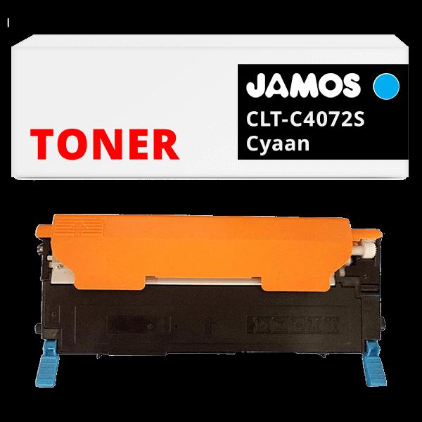 Jamos-Tonercartridge-Alternatief-voor-de-Samsung-CLT-C4072S-Cyaan