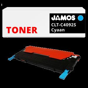 Jamos-Tonercartridge-Alternatief-voor-de-Samsung-CLT-C4092S-Cyaan