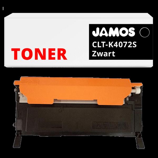 Jamos-Tonercartridge-Alternatief-voor-de-Samsung-CLT-K4072S-Zwart