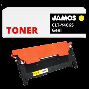 JAMOS Tonercartridge Alternatief voor de Samsung CLT-Y406S Geel