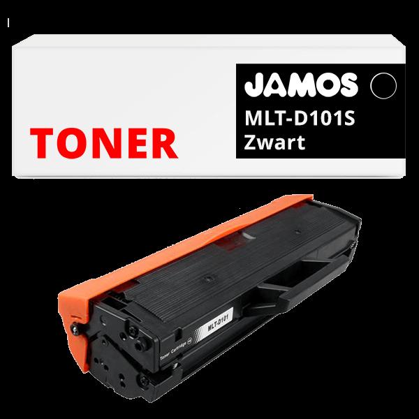 JAMOS Tonercartridge Alternatief voor de Samsung MLT-D101S Zwart