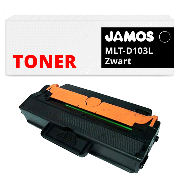 JAMOS Tonercartridge Alternatief voor de Samsung MLT-D103L Zwart