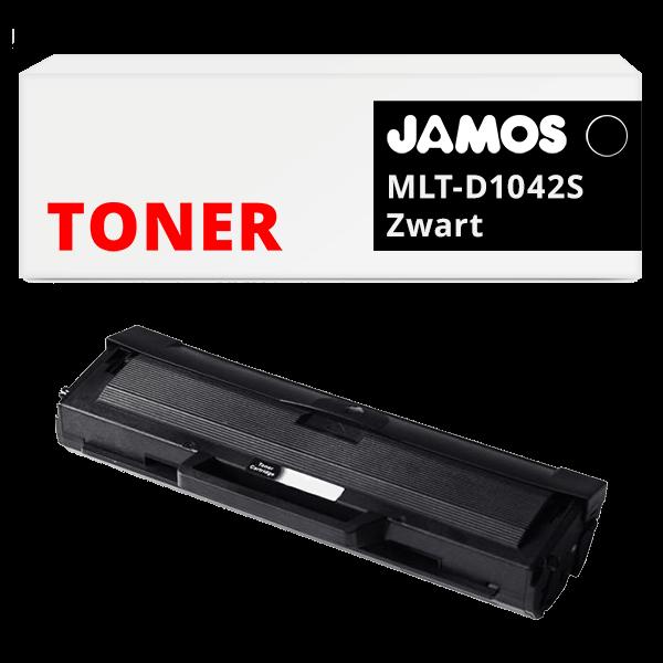 JAMOS Tonercartridge Alternatief voor de Samsung MLT-D1042S Zwart