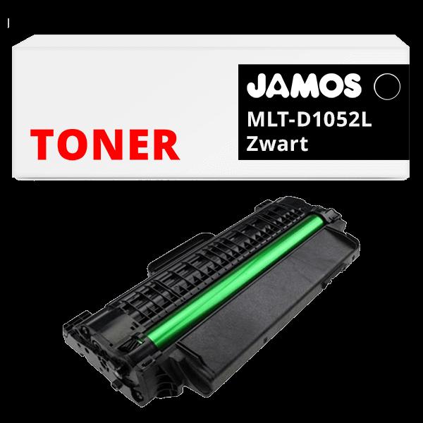 JAMOS Tonercartridge Alternatief voor de Samsung MLT-D1052L Zwart