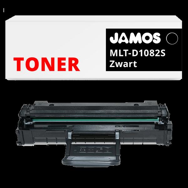 JAMOS Tonercartridge Alternatief voor de Samsung MLT-D1082S Zwart