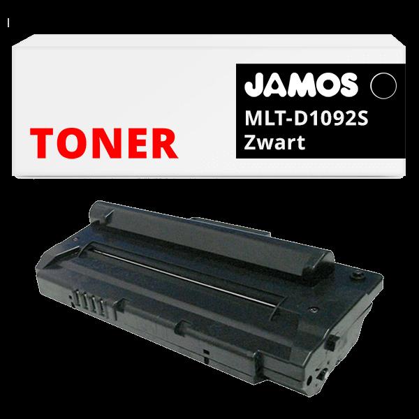 JAMOS Tonercartridge Alternatief voor de Samsung MLT-D1092S Zwart