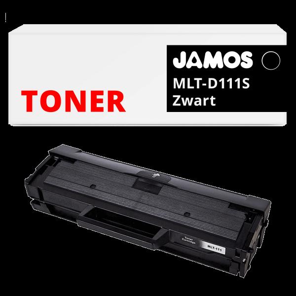 JAMOS Tonercartridge Alternatief voor de Samsung MLT-D111S Zwart