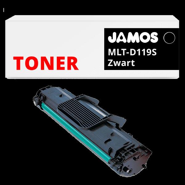 JAMOS Tonercartridge Alternatief voor de Samsung MLT-D119S Zwart