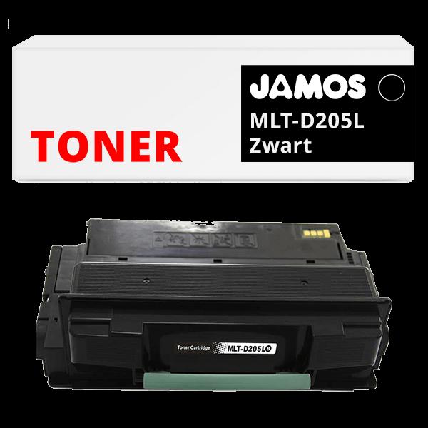JAMOS Tonercartridge Alternatief voor de Samsung MLT-D205L Zwart