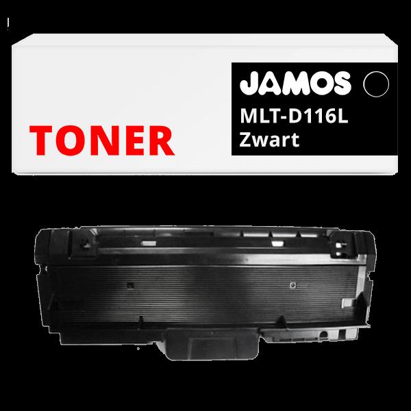 JAMOS Tonercartridge Alternatief voor de Samsung MLT-D116L Zwart