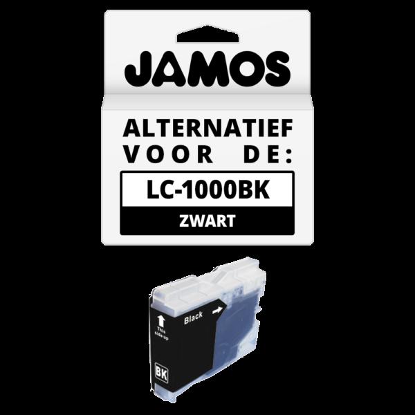 JAMOS Inktcartridge Alternatief voor de Brother LC-970BK & LC-1000BK Zwart