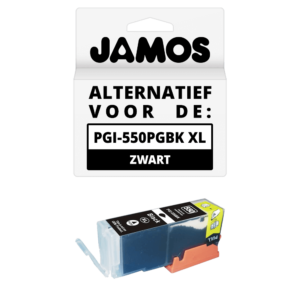 JAMOS Inktcartridge Alternatief voor de Canon PGI-550PGBK XL Zwart