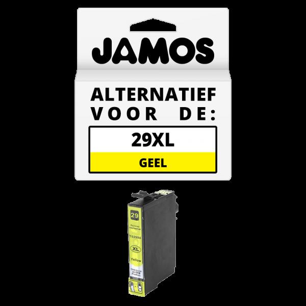 JAMOS Inktcartridge Alternatief voor de Epson 29XL Geel T2994