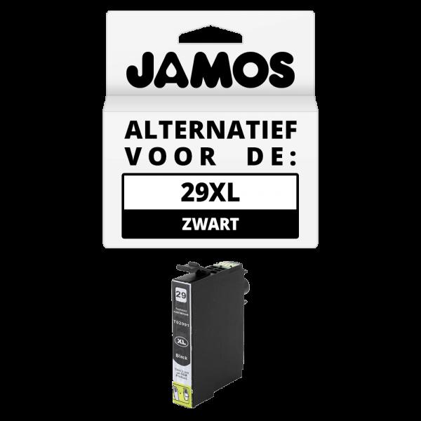 JAMOS Inktcartridge Alternatief voor de Epson 29XL Zwart T2991