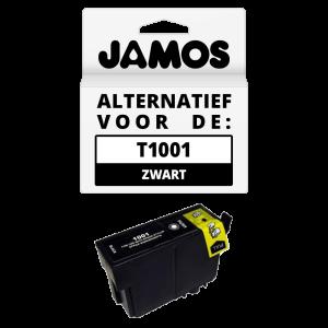 JAMOS Inktcartridge Alternatief voor de Epson T1001 Zwart