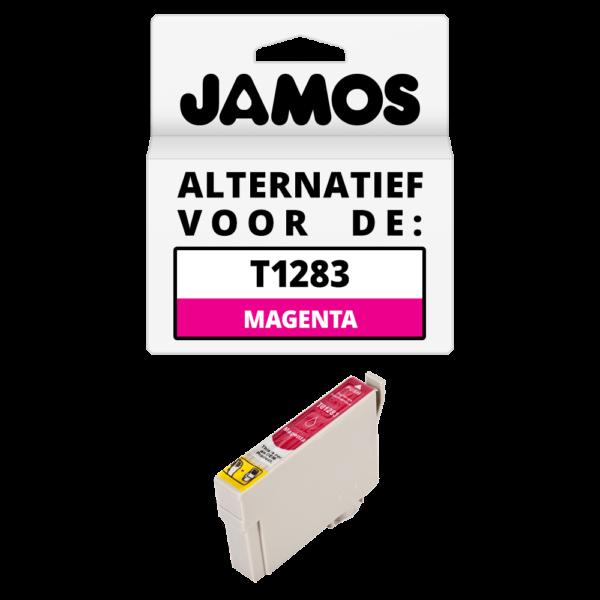JAMOS Inktcartridge Alternatief voor de Epson T1283 Magenta