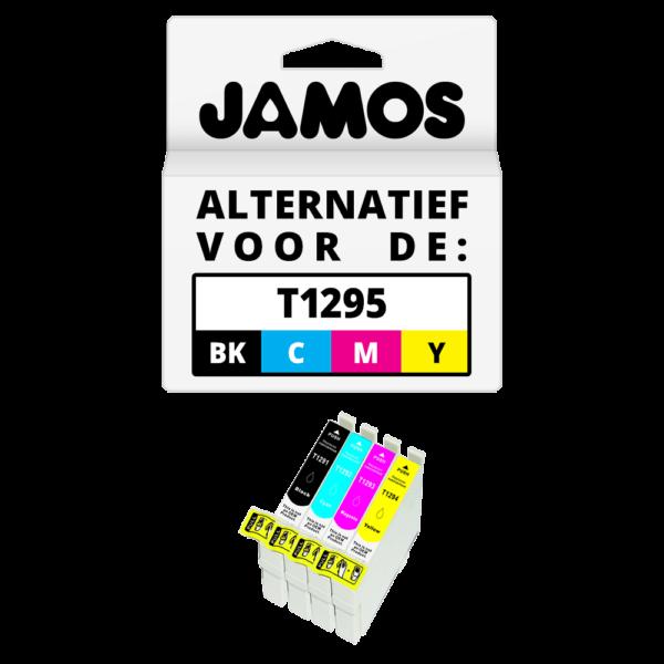 JAMOS Inktcartridge Alternatief voor de Epson T1295 Voordeelset