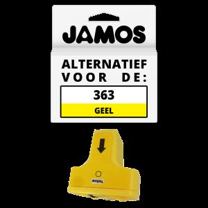 JAMOS Inktcartridge Alternatief voor de HP 363 Geel