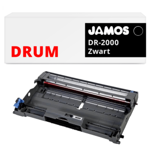 JAMOS Drum Alternatief voor de Brother DR-2000 Zwart