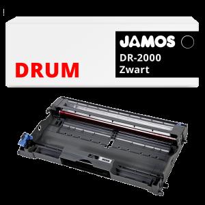 JAMOS Drum Alternatief voor de Brother DR-2000 Zwart