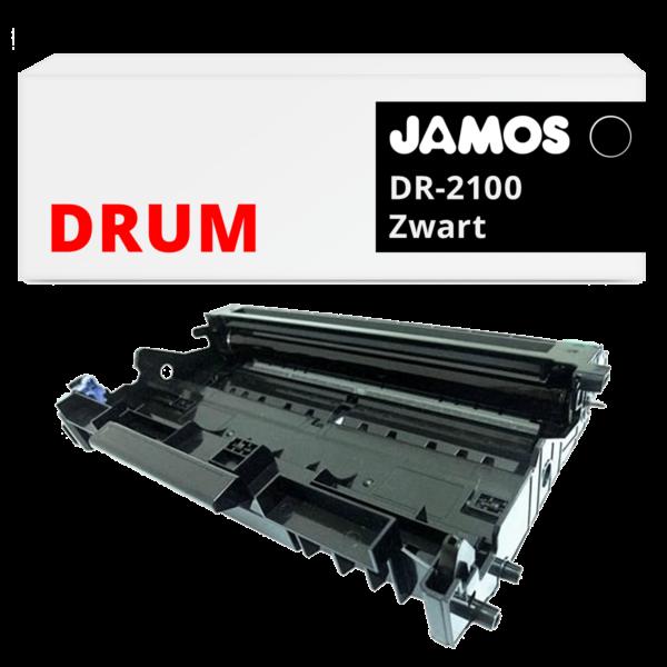 JAMOS Drum Alternatief voor de Brother DR-2100 Zwart