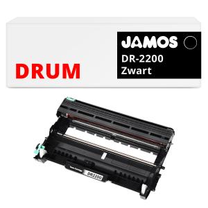 JAMOS Drum Alternatief voor de Brother DR-2200 Zwart