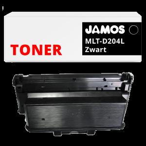 JAMOS Tonercartridge Alternatief voor de Samsung MLT-D204L Zwart