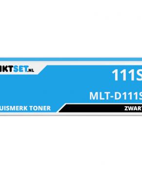 Inktset.nl MLT-D111S vervanger voor de Samsung MLT-D111S Toner Zwart