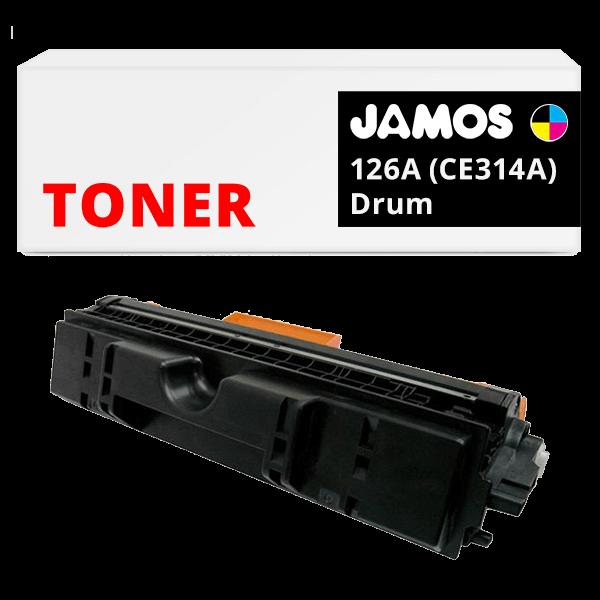 JAMOS Tonercartridge Alternatief voor de HP 126A Drum CE314A