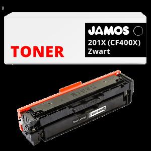 JAMOS Tonercartridge Alternatief voor de HP 201X CF400X Zwart