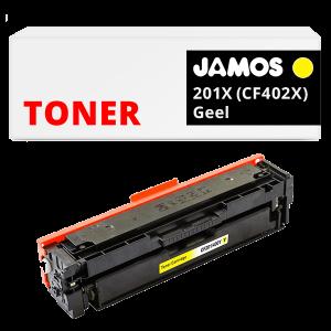 JAMOS Tonercartridge Alternatief voor de HP 201X Geel CF402X