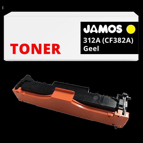 JAMOS Tonercartridge Alternatief voor de HP 312A Geel CF382A
