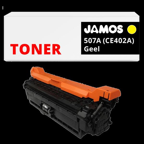 JAMOS Tonercartridge Alternatief voor de HP 507A Geel CE402A